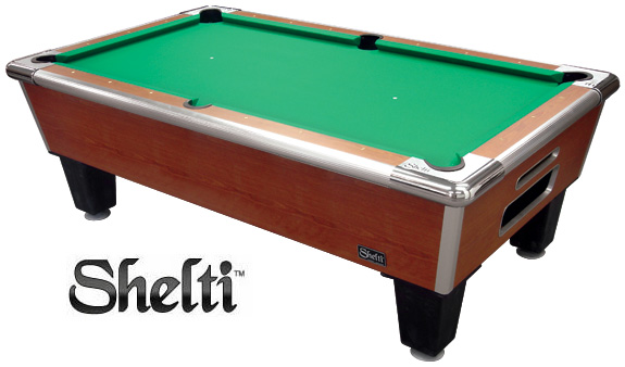 Shelti Coin Operated Pool Tables CALL TOLL FREE - Beach manufacturing pool table